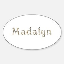 Madalyn Seashells Oval Decal