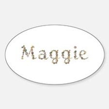 Maggie Seashells Oval Decal