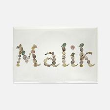 Malik Seashells Rectangle Magnet