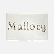 Mallory Seashells Rectangle Magnet