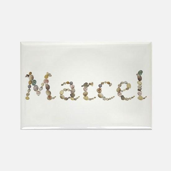 Marcel Seashells Rectangle Magnet