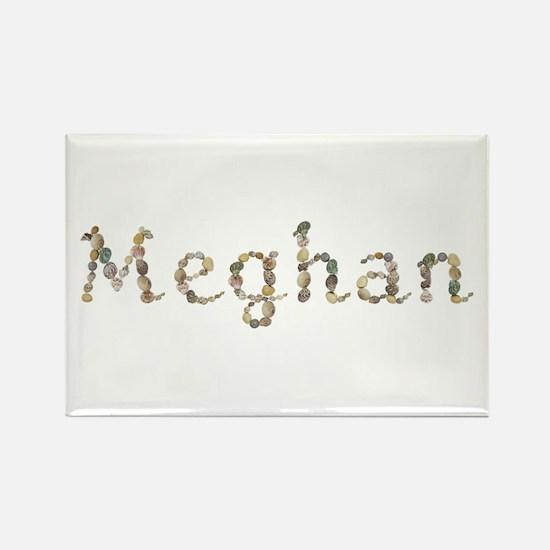 Meghan Seashells Rectangle Magnet