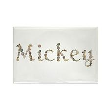 Mickey Seashells Rectangle Magnet