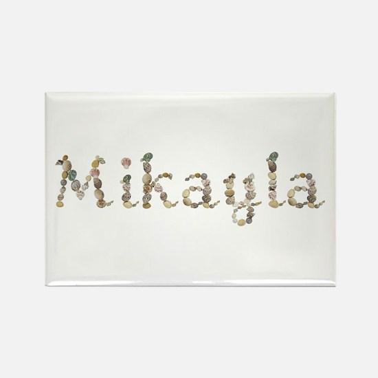 Mikayla Seashells Rectangle Magnet