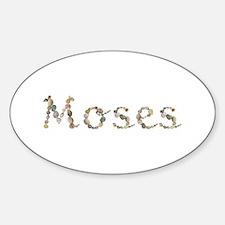 Moses Seashells Oval Decal
