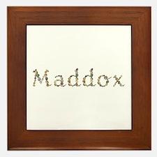 Maddox Seashells Framed Tile