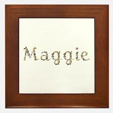Maggie Seashells Framed Tile