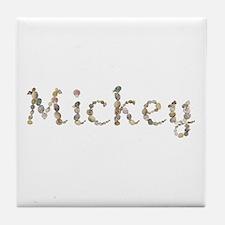 Mickey Seashells Tile Coaster