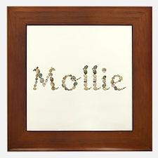 Mollie Seashells Framed Tile