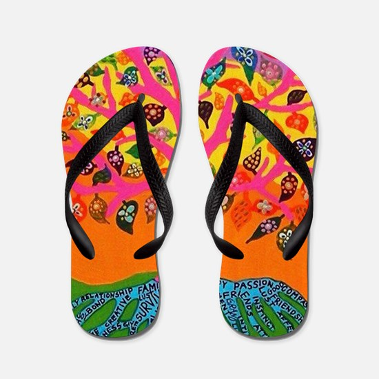 The Root of Knowledge - 2012 (print) Flip Flops