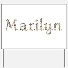 Marilyn Seashells Yard Sign