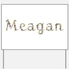 Meagan Seashells Yard Sign