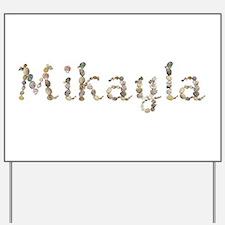 Mikayla Seashells Yard Sign