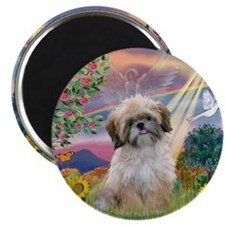 Cloud Angel & Shih Tzu Magnet