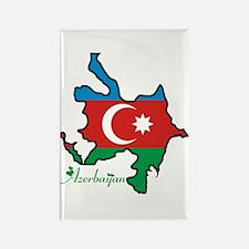 Cool Azerbaijan Rectangle Magnet