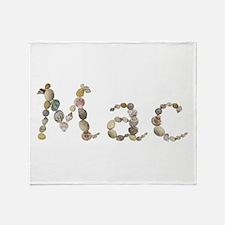 Mac Seashells Throw Blanket