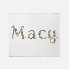 Macy Seashells Throw Blanket