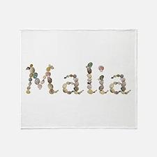 Malia Seashells Throw Blanket