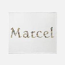 Marcel Seashells Throw Blanket