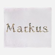Markus Seashells Throw Blanket