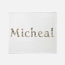Micheal Seashells Throw Blanket