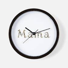 Mama Seashells Wall Clock