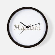 Maribel Seashells Wall Clock