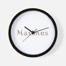 Maximus Seashells Wall Clock