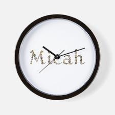 Micah Seashells Wall Clock