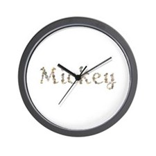 Mickey Seashells Wall Clock