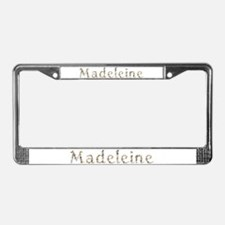 Madeleine Seashells License Plate Frame