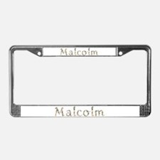 Malcolm Seashells License Plate Frame