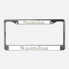 Maximilian Seashells License Plate Frame
