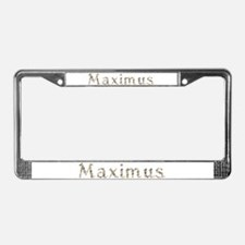 Maximus Seashells License Plate Frame