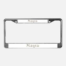 Mayra Seashells License Plate Frame