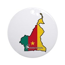 Cool Cameroon Ornament (Round)