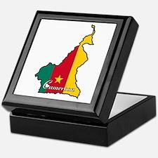 Cool Cameroon Keepsake Box