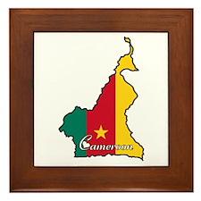 Cool Cameroon Framed Tile