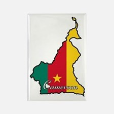 Cool Cameroon Rectangle Magnet