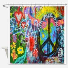 The Sixties Shower Curtain