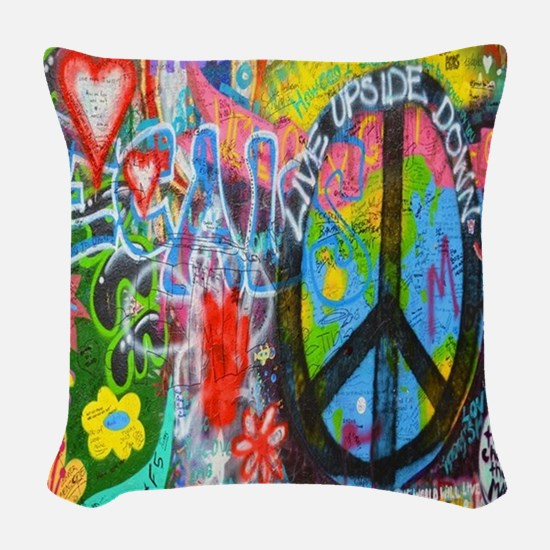 The Sixties Woven Throw Pillow