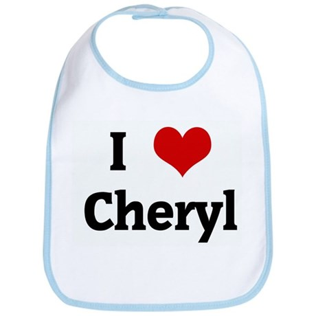 I Love Cheryl Bib