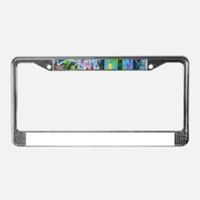 The Sixties License Plate Frame
