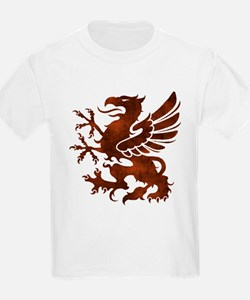 Brown Gryphon T-Shirt