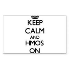Keep Calm and Hmos ON Decal