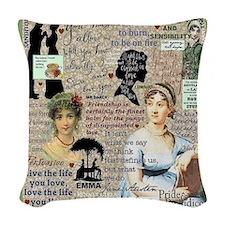 Austen Woven Throw Pillow