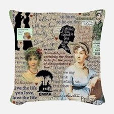 Austen Woven Throw Pillow