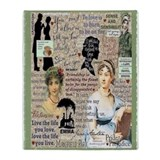 Jane austen Fleece Blankets