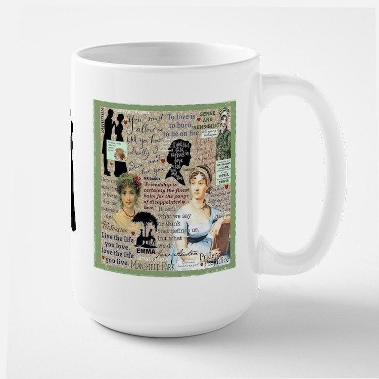 Austen Large Mug Mugs