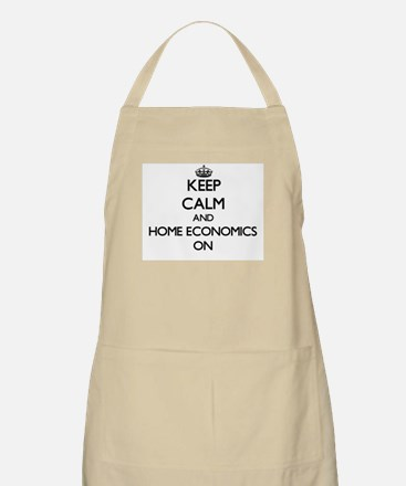 Keep Calm and Home Economics ON Apron